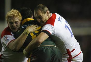 England v Australia 2009 Gillette Four Nations Final