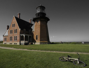 Block Island, NY, Southeast Lighthouse.