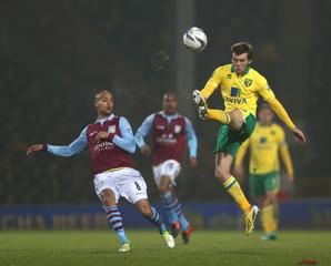Norwich City v Aston Villa - Capital One Cup Quarter Final