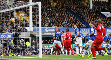 Everton v Liverpool - Barclays Premier League
