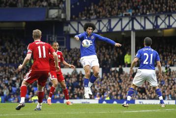Everton v West Bromwich Albion Barclays Premier League