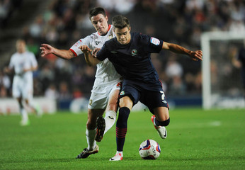 Milton Keynes Dons v Blackburn Rovers - Capital One Cup Second Round