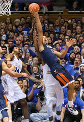 NCAA Basketball: Virginia at Duke