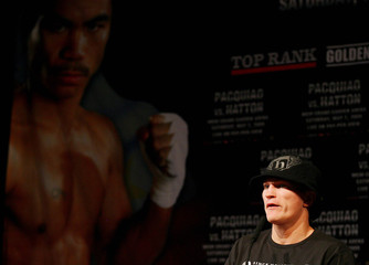 Ricky Hatton & Manny Pacquiao Head-to-Head Press Conference