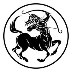 Sagittarius Centaur Zodiac Horoscope Sign