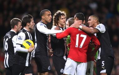Manchester United v Newcastle United Barclays Premier League