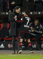 Bayer Leverkusen v Borussia Moenchengladbach - German Bundesliga