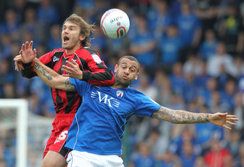Chesterfield v Gillingham npower Football League Two