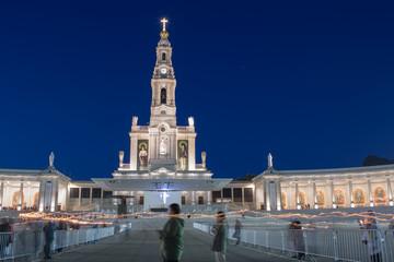 Santuario di Fatima, fiaccolata