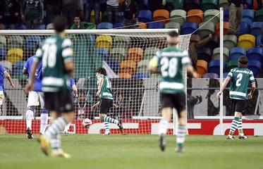 Sporting Lisbon v Everton UEFA Europa League Second Round Second Leg