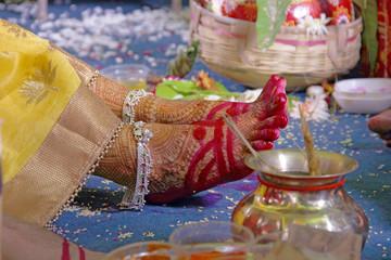 bride foot