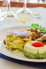 Plat Cuisiné - Gastronomie - Cuisine - Viande & Légumes