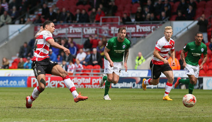 Doncaster Rovers v Scunthorpe United - Sky Bet Football League One