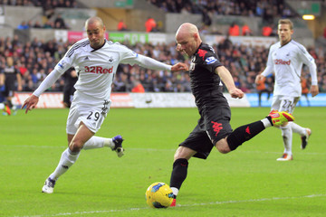 Swansea City v Fulham Barclays Premier League