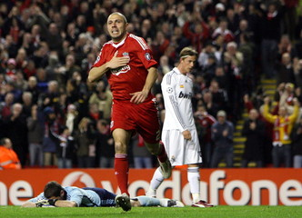 Liverpool v Real Madrid UEFA Champions League Second Round Second Leg