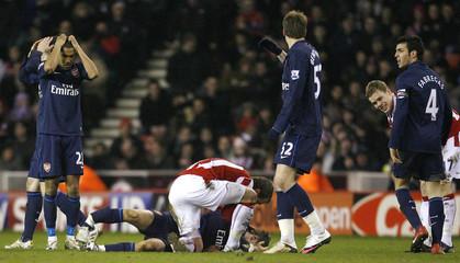 Stoke City v Arsenal Barclays Premier League