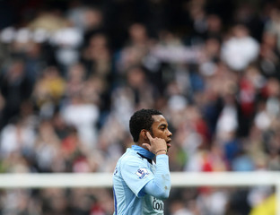 Manchester City v Fulham Barclays Premier League