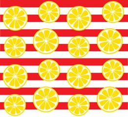 seamless lemon background pattern