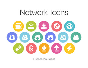 Network Icons, Pixi Series
