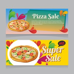 pizza sale banner