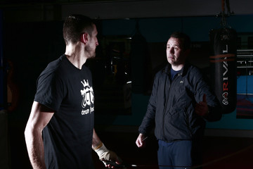 Carl Froch training ahead of his clash with Mikkel Kessler