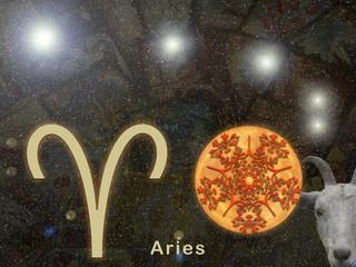 Signo de Aries. Representación del signo de Aries en el horóscopo.