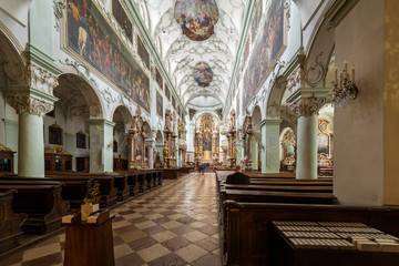 Visiting St Peter's Abbey in Salzburg
