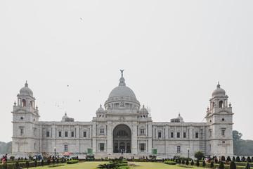 VIctoria Memorial Hall in Kolkata, India
