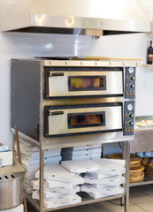Electric ovens, equipment for making pizza