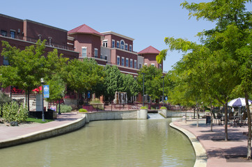 Riverwalk in Pueblo, Colorado