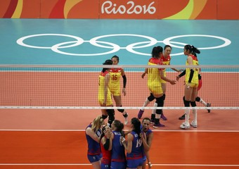 Volleyball - Women's Gold Medal Match China v Serbia