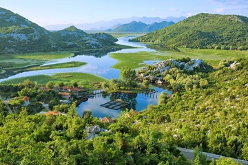 Lake Skadar Park In Montenegro