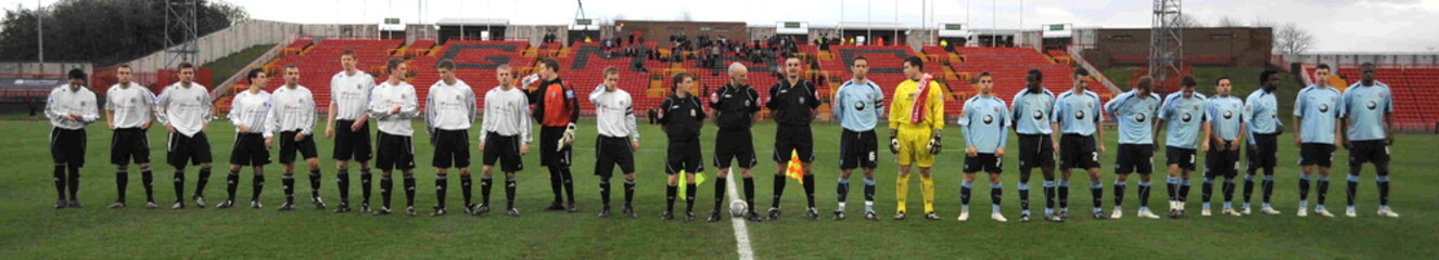 Gateshead v Brentford FA Cup First Round