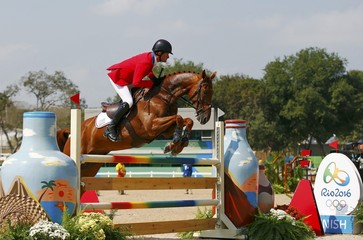Equestrian - Eventing Individual Jumping Final