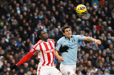 Manchester City v Stoke City - Barclays Premier League
