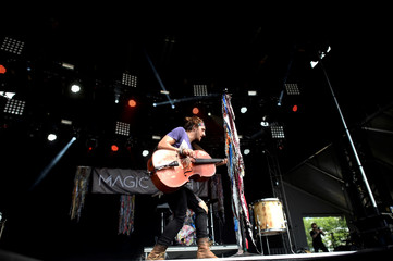 Magic Giant performs during the Firefly Music Festival in Dover, Delaware, U.S.