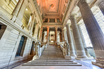 Palace of Justice - Brussels, Belgium