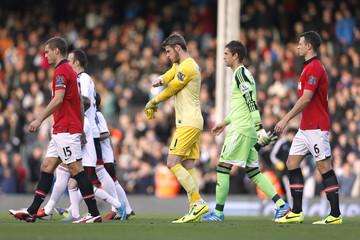 Fulham v Manchester United - Barclays Premier League