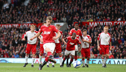 Manchester United v Sheffield United FA Youth Cup Final Second Leg