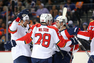 NHL: Stanley Cup Playoffs-Florida Panthers at New York Islanders