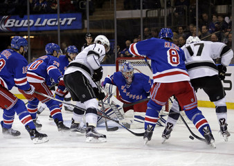 NHL: Los Angeles Kings at New York Rangers