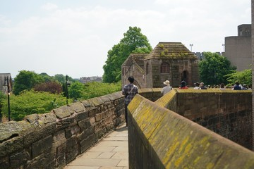 Chester city wall Fotomurales