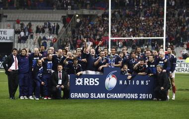 France v England RBS Six Nations Championship 2010