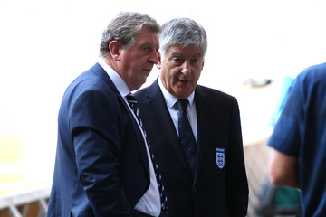 England Manager Roy Hodgson and FA Chairman David Bernstein