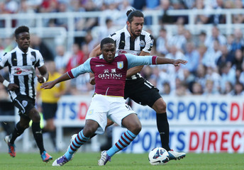 Newcastle United v Aston Villa - Barclays Premier League
