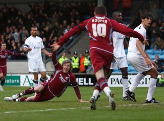 Scunthorpe United v Milton Keynes Dons Coca-Cola Football League One Play-Off Semi Final First Leg