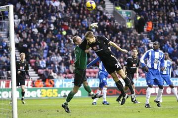 Wigan Athletic v Tottenham Hotspur Barclays Premier League