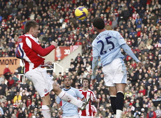 Stoke City v Manchester City Barclays Premier League