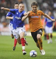 Wolverhampton Wanderers v Portsmouth Barclays Premier League