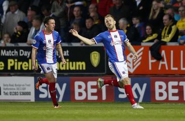 Burton Albion v Carlisle United - Sky Bet Football League Two